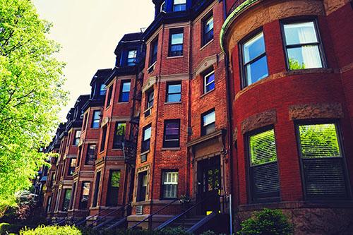 Boston's Back Bay Neighborhood